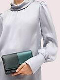 nicola bicolor metallic chain wallet, , s7productThumbnail