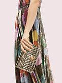 romy metallic croc-embossed chain wallet, , s7productThumbnail