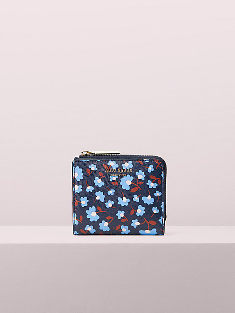 Spencer party floral small bifold wallet | Kate Spade New York