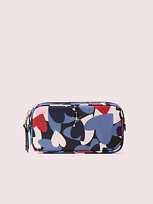 taylor heart party small cosmetic case by kate spade new york non-hover view