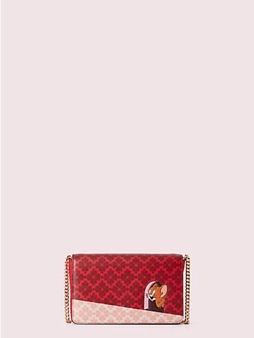 Kate Spade New York x Tom und Jerry Brieftasche mit Kettenriemen, , rr_productgrid