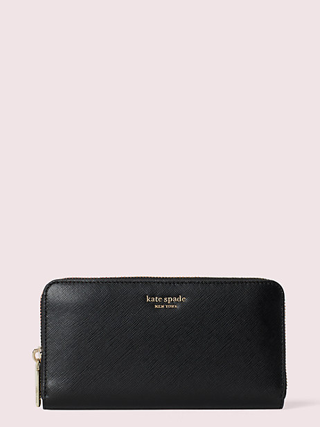 spencer zip-around continental wallet by kate spade new york