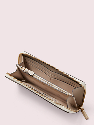 margaux slim continental wallet by kate spade new york hover view