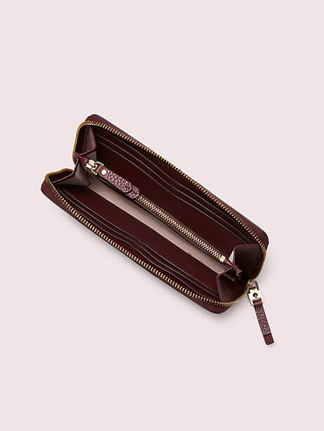 Polly slim continental wallet | Kate Spade New York