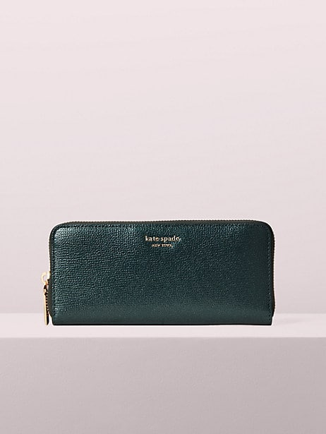 sylvia slim continental wallet by kate spade new york