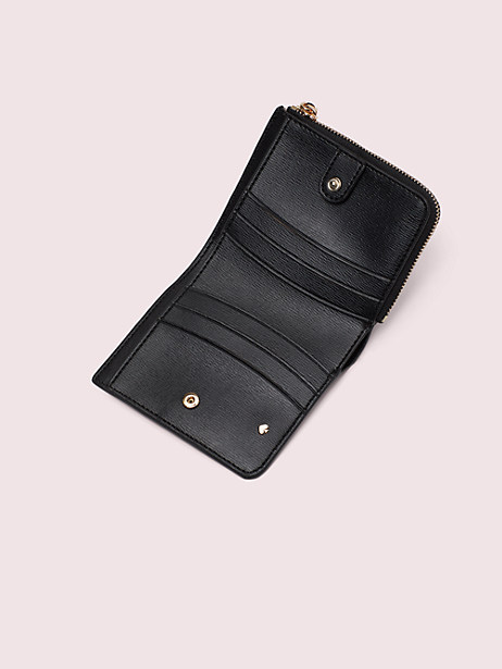 Spencer heart party small bifold wallet   Kate Spade New York