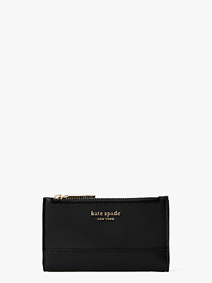 spencer small slim bifold wallet by kate spade new york non-hover view