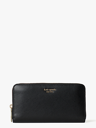 spencer zip-around contintental wallet by kate spade new york non-hover view