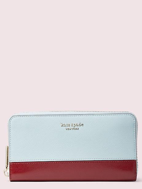 Spencer zip-around contintental wallet | Kate Spade New York