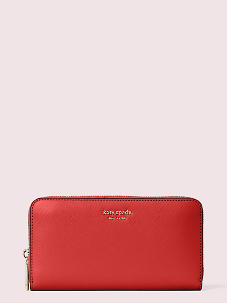 spencer zip-around contintental wallet by kate spade new york