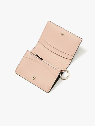spencer mini keyring wallet by kate spade new york hover view