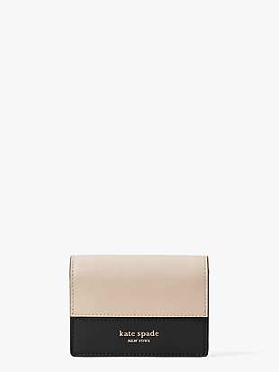 spencer mini keyring wallet by kate spade new york non-hover view