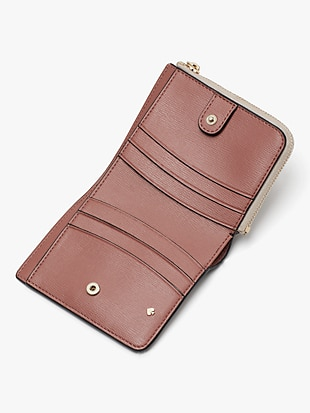 spencer small bifold wallet by kate spade new york hover view
