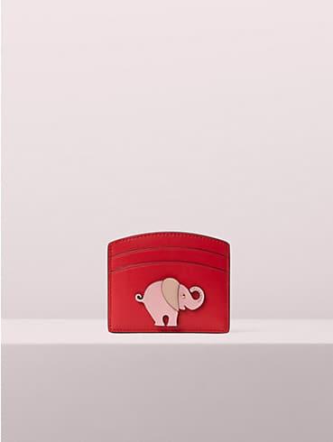 appliqué tiny elephant cardholder, , rr_productgrid
