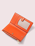 appliqué tiny small slim bifold wallet, , s7productThumbnail
