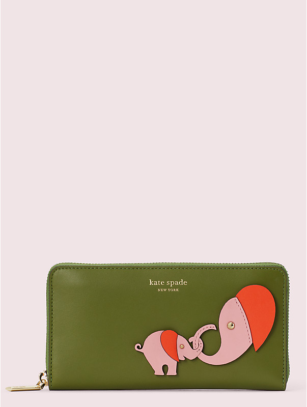 appliqué tiny zip-around continental wallet, , rr_large
