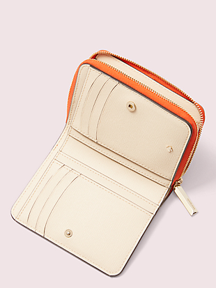 safari compact wallet by kate spade new york hover view