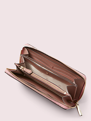 safari zip-around continental wallet by kate spade new york hover view