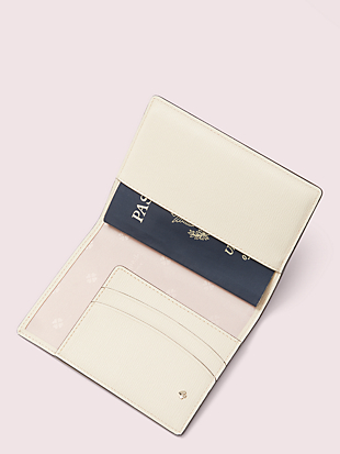 safari passport holder by kate spade new york hover view