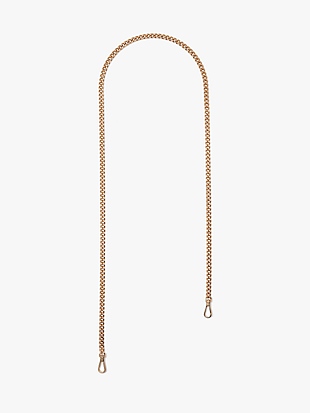 make it mine chain crossbody strap by kate spade new york non-hover view