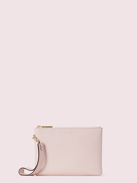 margaux small pouch wristlet, tutu pink, large by kate spade new york