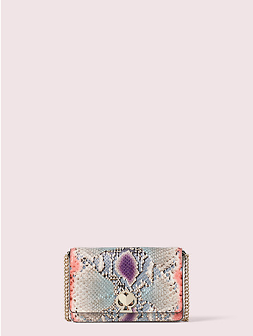 romy python-embossed chain wallet, , rr_productgrid