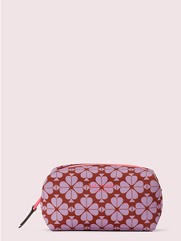 spade flower neoprene medium cosmetic case, , rr_productgrid