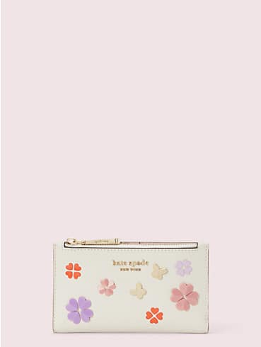 spencer spade clover butterfly small slim bifold wallet, , rr_productgrid