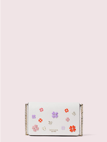 spencer spade clover butterfly chain wallet, , rr_productgrid