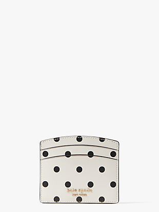 spencer cabana dot cardholder by kate spade new york non-hover view
