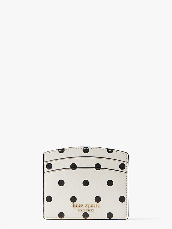 spencer cabana dot cardholder, , rr_large