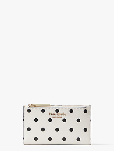spencer cabana dot small slim bifold wallet, , rr_productgrid
