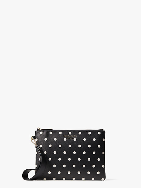 spencer cabana dot small pouch wristlet by kate spade new york