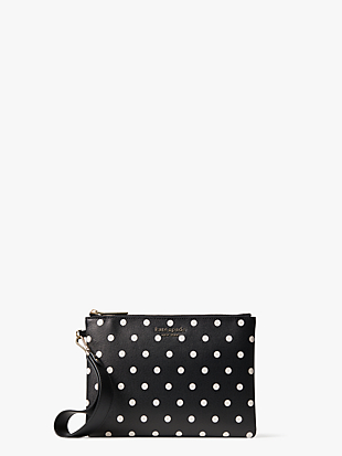 spencer cabana dot small pouch wristlet by kate spade new york non-hover view