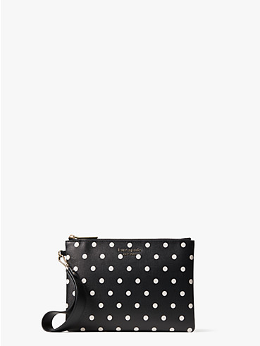 spencer cabana dot small pouch wristlet, , rr_productgrid