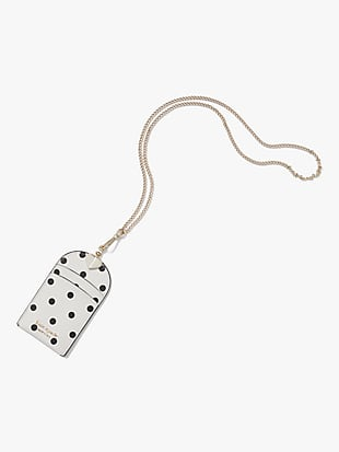 spencer cabana dot lanyard by kate spade new york non-hover view