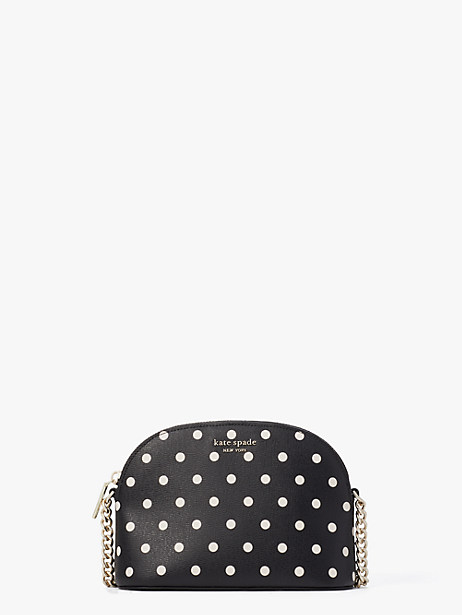 spencer cabana dot small dome crossbody by kate spade new york