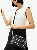 spencer cabana dot small dome crossbody, , s7productThumbnail