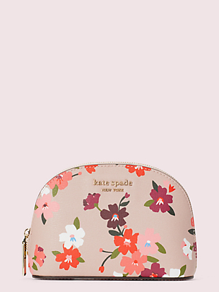 spencer cherry blossom small dome cosmetic case by kate spade new york non-hover view