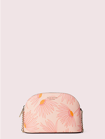 spencer falling flower small dome crossbody, , rr_productgrid