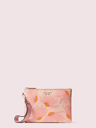 spencer falling flower small pouch wristlet by kate spade new york non-hover view