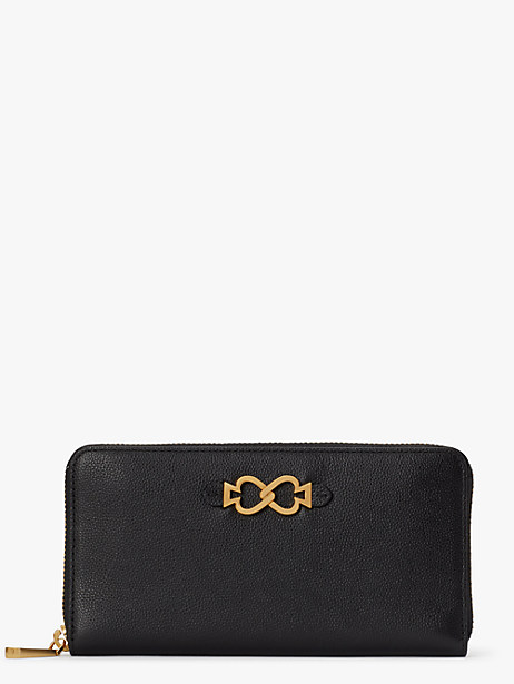 toujours zip-around continental wallet by kate spade new york