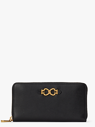 toujours zip-around continental wallet by kate spade new york non-hover view