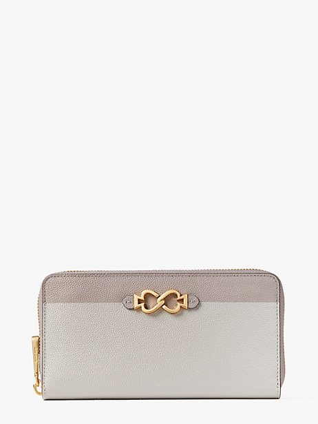 Toujours zip-around continental wallet   Kate Spade New York
