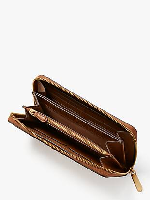 toujours zip-around continental wallet by kate spade new york hover view