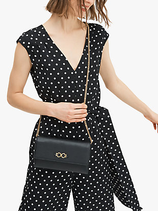 toujours chain clutch by kate spade new york hover view