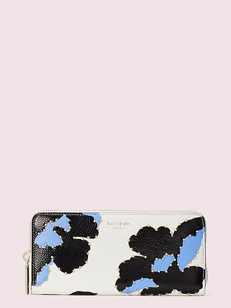 margaux city bloom slim continental wallet by kate spade new york