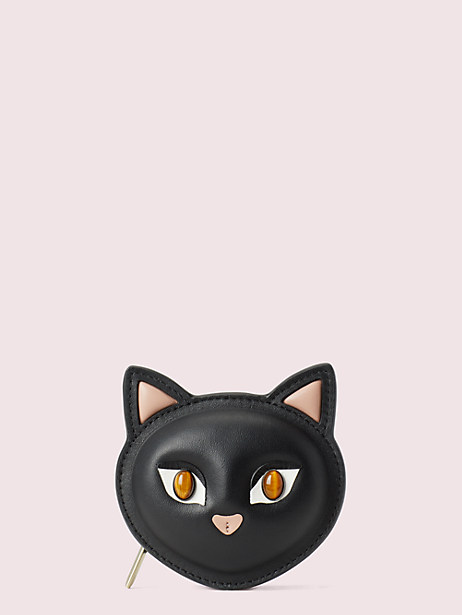 meow cat coin pouch by kate spade new york