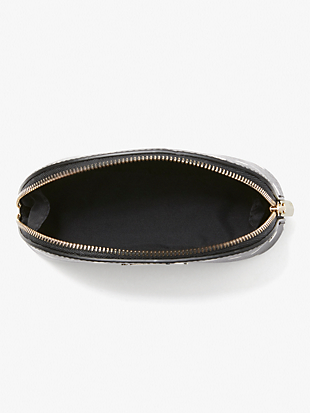 spencer cabana dot small dome cosmetic case by kate spade new york hover view
