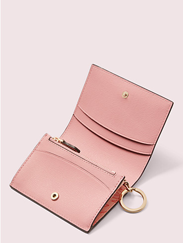 spencer falling flower mini key ring wallet, , rr_productgrid